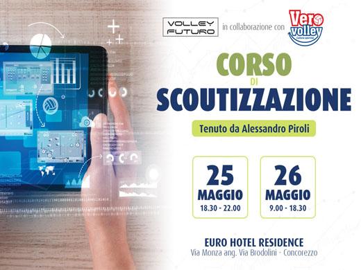 Partecipa al Corso di Scoutizzazione organizzato in collaborazione con il Consorzio Vero Volley