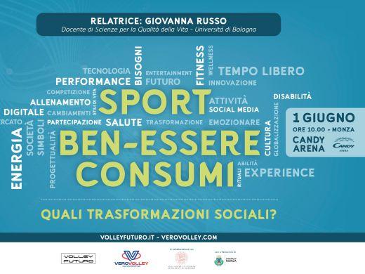 """""""Sport, Ben-Essere, Consumi: quali trasformazioni sociali?"""": il 1° giugno il convegno alla Candy Arena"""